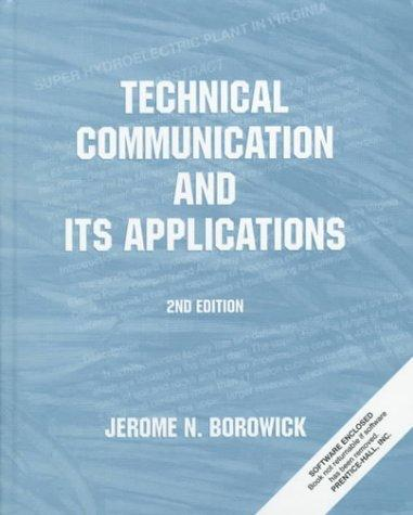 Technical Communication and Its Applications (2nd Edition)