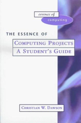 Download The Essence of Computing Projects