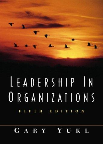 Download Leadership in Organizations
