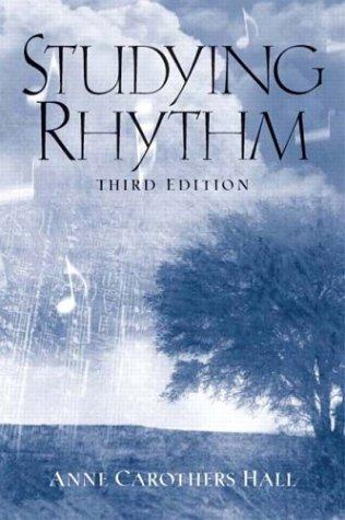 Studying Rhythm (3rd Edition)