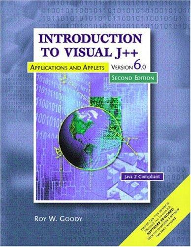 Download Introduction to Visual J++, Version 6.0 (2nd Edition)