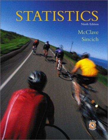 Statistics by James T. McClave
