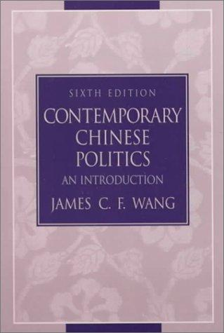Download Contemporary Chinese politics