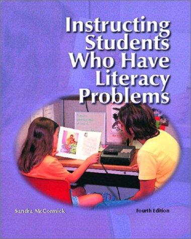 Download Instructing students who have literacy problems