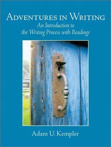 Download Adventures in writing