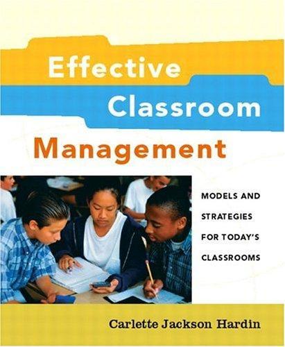 Effective Classroom Management