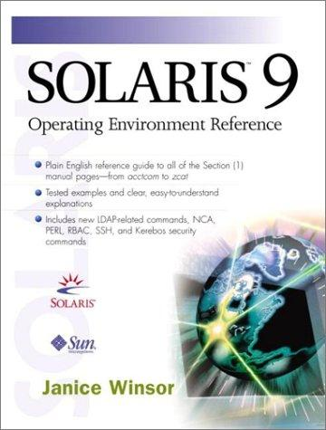 Solaris 9 Operating Environment Reference