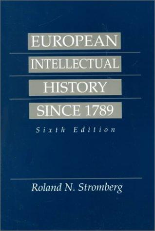 Download European intellectual history since 1789