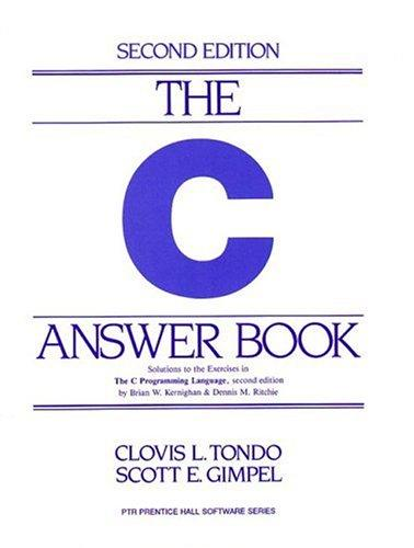 Download The C answer book