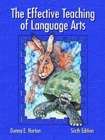 Download The effective teaching of language arts