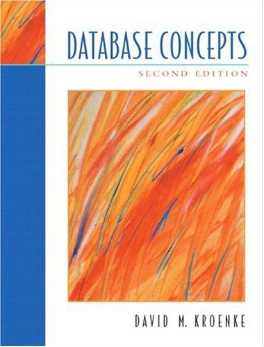 Database Concepts (2nd Edition)