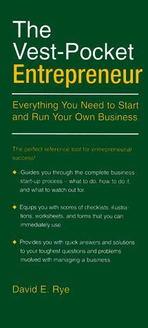 Download The vest-pocket entrepreneur