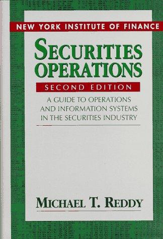 Download Securities operations