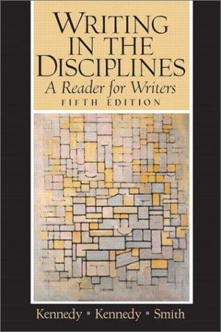 Download Writing in the disciplines