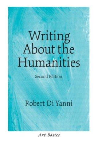 Download Writing about the humanities