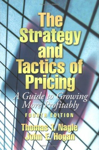 Download The strategy and tactics of pricing