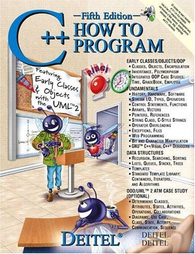 Download C++ How to Program (5th Edition) (How to Program)