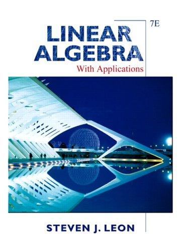 Download Linear algebra with applications