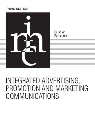 Integrated advertising, promotion & marketing communications