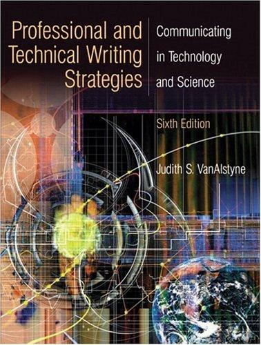 Download Professional and technical writing strategies