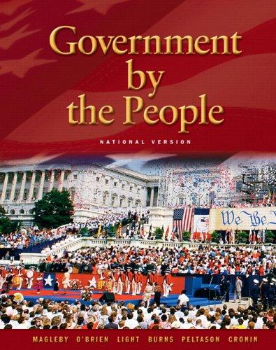 Government By the People – National Version (21st Edition)