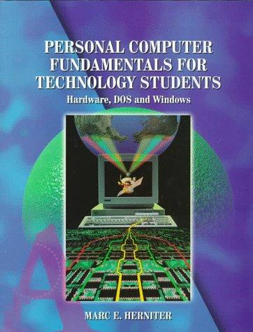 Download Personal computer fundamentals for technology students