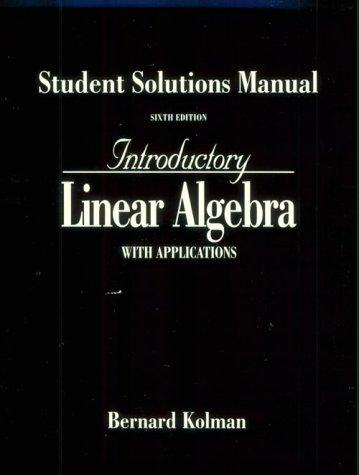 Download Introductory Linear Algebra With Applications