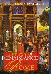 Art of Renaissance Rome 1400-1600, The, REPRINT