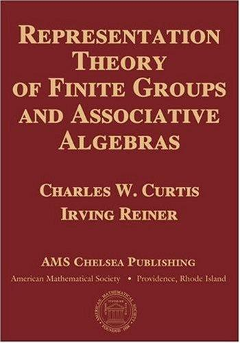 Download Representation theory of finite groups and associative algebras