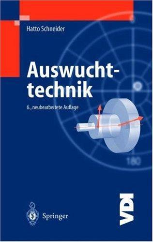 Download Auswuchttechnik (VDI-Buch)