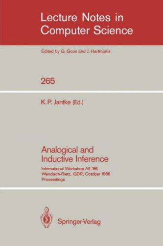 Download Analogical and Inductive Inference