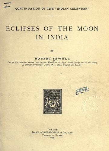 Download Eclipses of the moon in India.