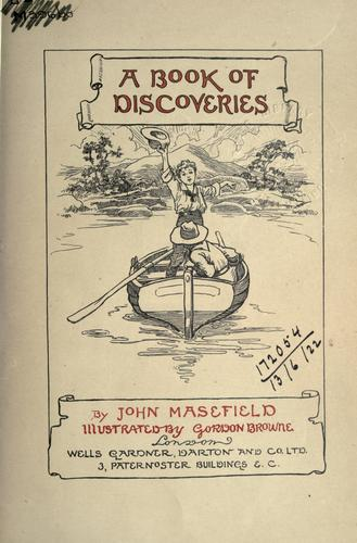 A book of discoveries.
