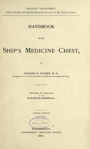 Download Handbook for the ship's medicine chest
