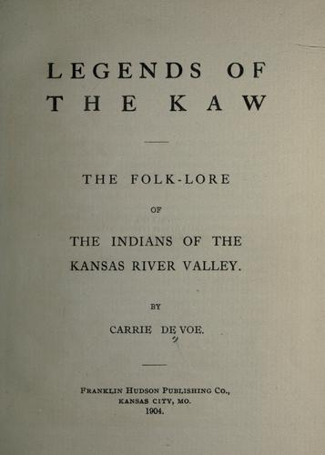 Download Legends of the Kaw