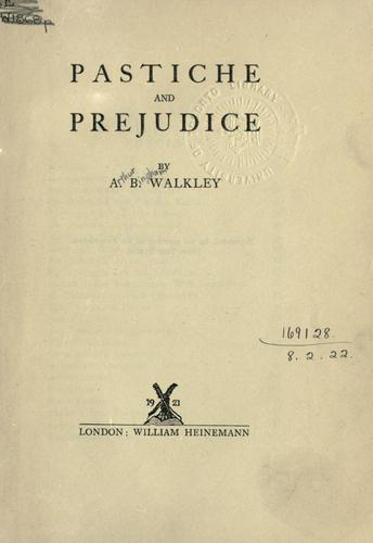Download Pastiche and prejudice.