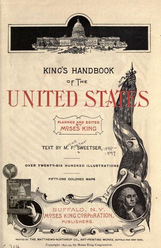 King's handbook of the United States.
