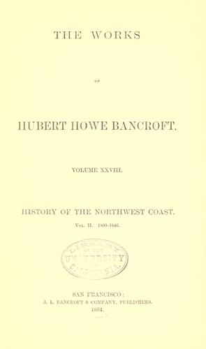 Download History of the northwest coast.