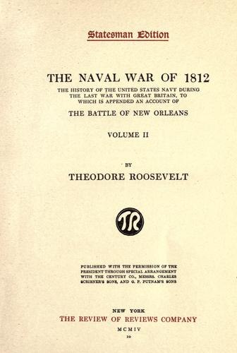 Download The naval war of 1812