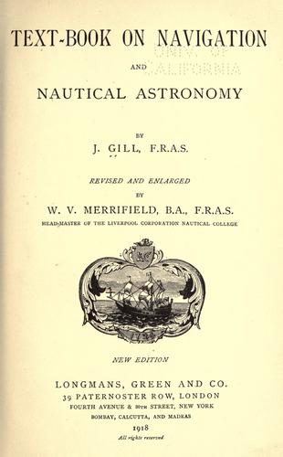 Download Text-book on navigation and nautical astronomy