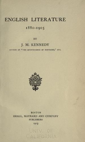 Download English literature, 1880-1905