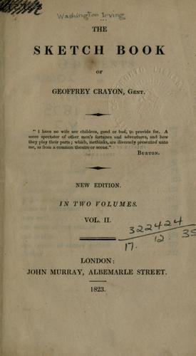 The sketch book of Geoffrey Crayon.
