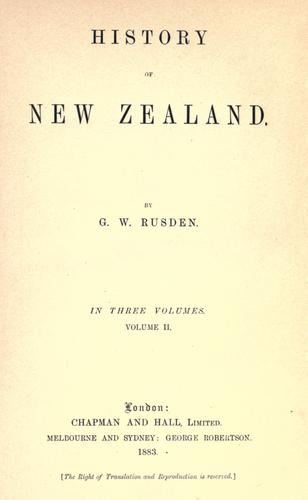 Download History of New Zealand.