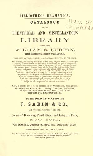 Download Bibliotheca dramatica