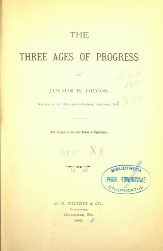 Download The three ages of progress