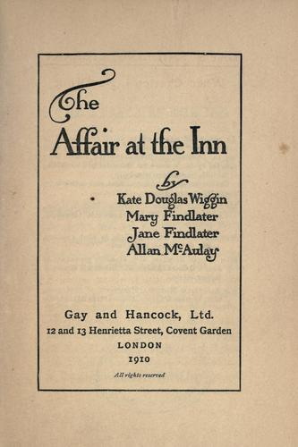 The affair at the inn