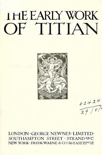 The early work of Titian.