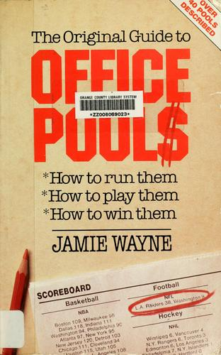 The original guide to office pools