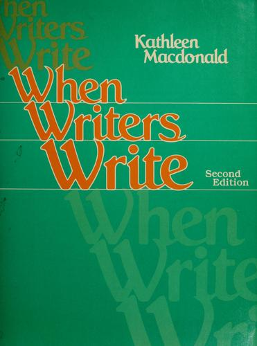 Download When writers write