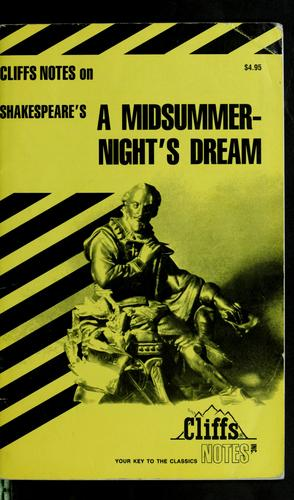 A midsummer night's dream by Matthew Wilson Black
